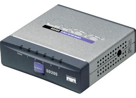 Switch Hub Linksys 8 Port linksys sd205 5 port fast ethernet switch linksys