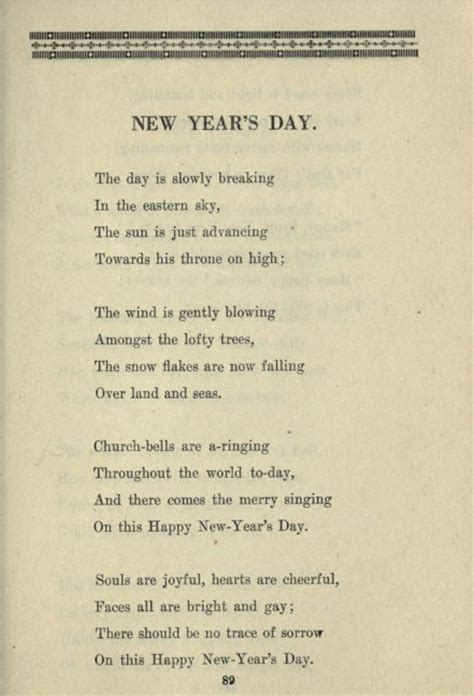 new years day poem 28 images daughters and