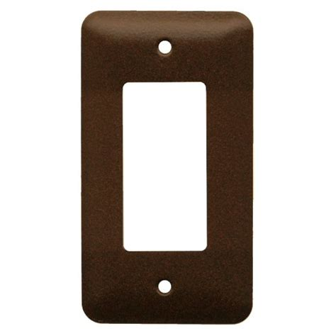 commercial grade single rocker steel switch plate cover - Switch Plate Covers