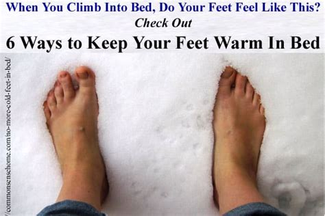 cold feet in bed hot water bottle common sense homesteading
