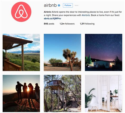airbnb instagram instagram bio ideas for business