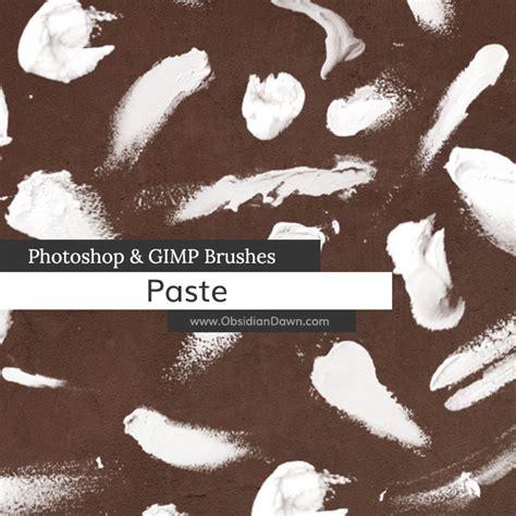 tutorial photoshop gimp paste photoshop gimp brushes obsidian dawn