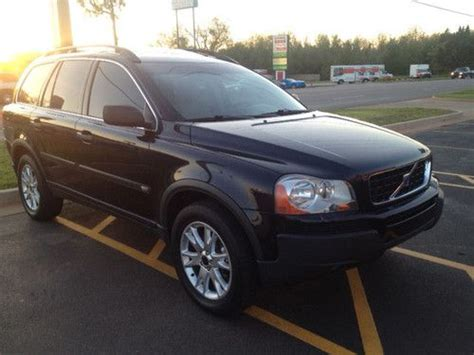 volvo suv 3 row seating purchase used 2004 volvo xc90 t6 2 9l suv 3rd row seats