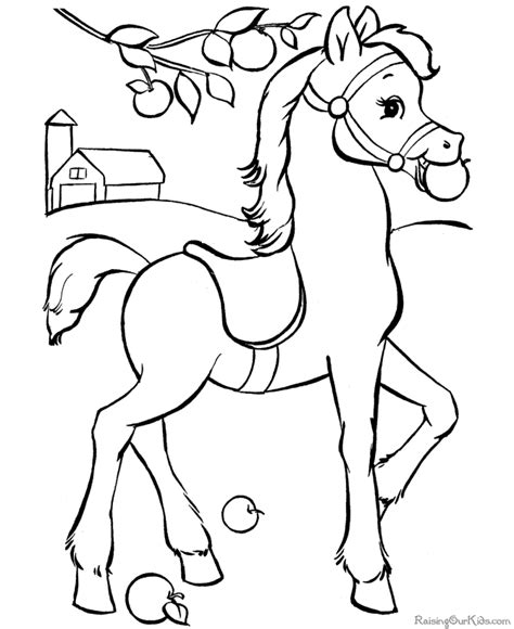coloring pictures of horses to print horse to print and color pages 2 color pinterest