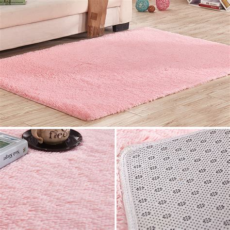 rug slip soft tufted microfiber bathroom home mat rug non slip back customize carpet ebay