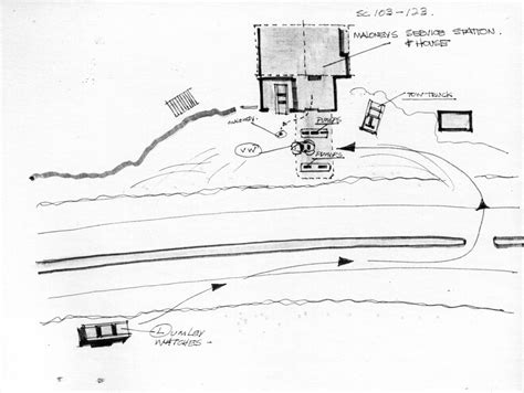 Chappaquiddick Plot Drawings For A Master Storyboards From The Of Alfred Hitchcock