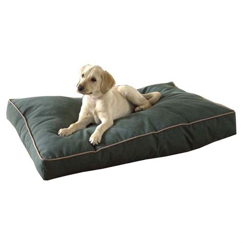 dog outdoor bed carolina pet co 174 indoor outdoor synthetic gusset