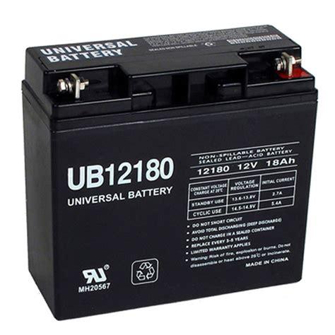 12 volt 18 ah 12v 18a ub12180 security alarm battery
