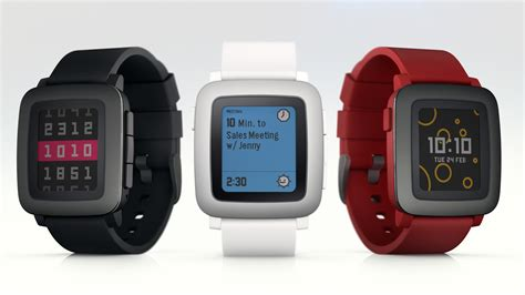 Pebble launches new smartwatch exclusively on Kickstarter   The Verge