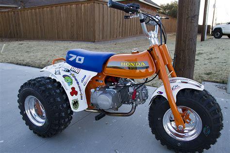 Honda Atc 70 by Retro Honda Atc 70 Motorsports In Photography On The
