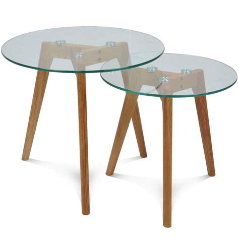 table basse verre hauteur 50 cm le bois chez vous