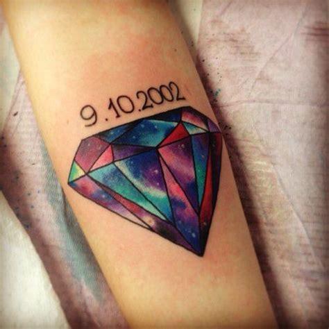 tattoo diamond galaxy tatuagem de diamante significados modelos e 77 tattoos
