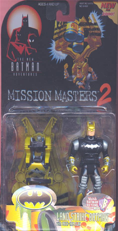 Batman Mission Masters 3 Assault land strike batman