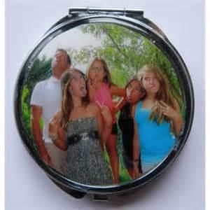 miroir de poche personnalis 233 avec la photo de votre choix