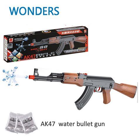 Water Gel Bullet Gun Armor ak47 for sale promotion shop for promotional ak47 for sale on aliexpress