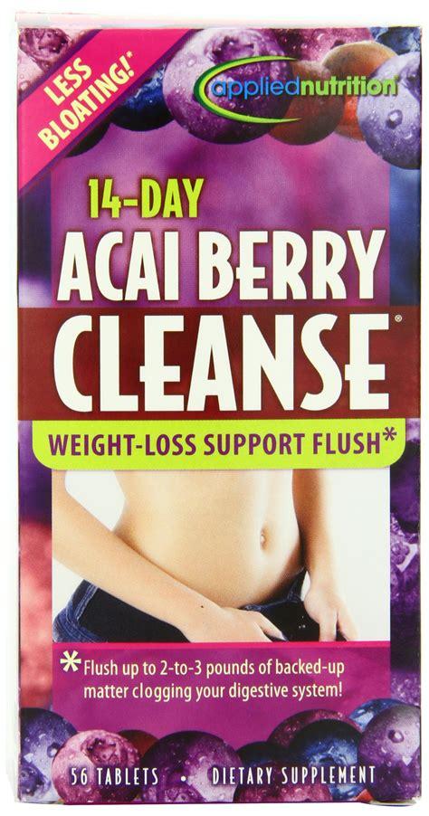 Garden Greens Acai Cleanse 10 Day Detox by Applied Nutrition Green Tea Burner