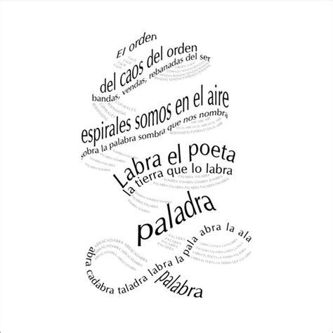 poesia letras hispanicas hispanic 8437606136 poemas futuristas poesia visual 2
