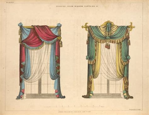 history of draping curtains drapery the design tabloid