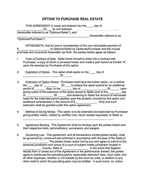 rent to buy contract template how rent to own works a guide