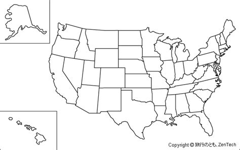 outline map of usa 2 geography printable united states maps