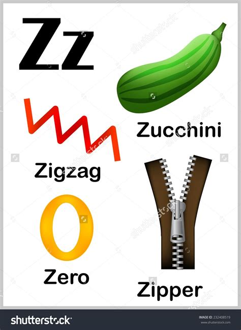Letters That Start With Z