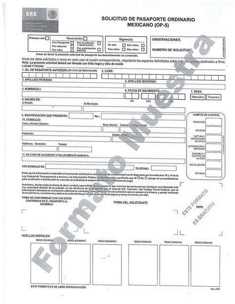 formato de pago de pasaporte en banco tr 225 mite de pasaporte guasave
