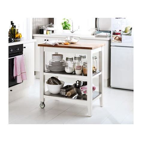 stenstorp kitchen trolley ikea used as small moveable
