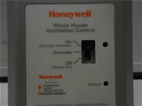 honeywell whole house ventilation control nos honeywell w8150a 1001 whole house fresh air ventilation control 19i7 ebay