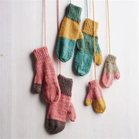 knitting patterns for leftover yarn how to knit playful mittens using leftover yarn martha