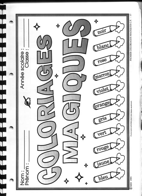Coloriage Magique Cp 63 Dessins 224 Imprimer Et 224 Colorier