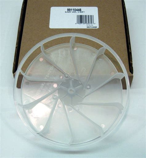 fireplace squirrel cage fan 99110446 broan nutone vent fan blower wheel plastic
