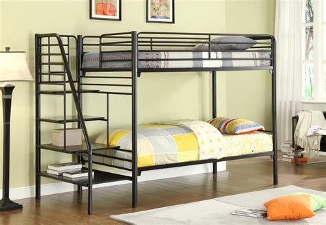 donco metal bunk beds  stairs kfs stores