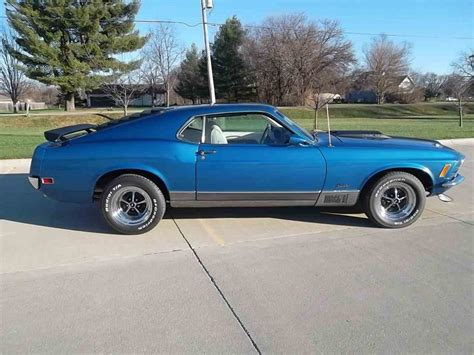 1970 ford mustang mach 1 well maintained by original owner classic classics groovecar 1970 ford mustang mach 1 for sale classiccars com cc 949357