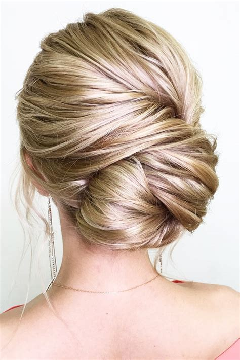 Wedding Updos For Hair by 54 Simple Updos Wedding Hairstyles For Brides Koees
