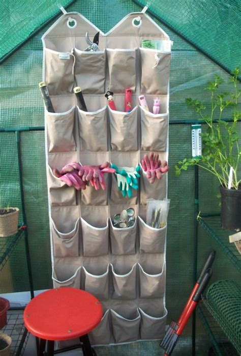 creative tool storage solutions   garden shed