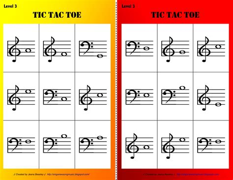 tic tac toe sing a new song tic tac toe levels 1 3