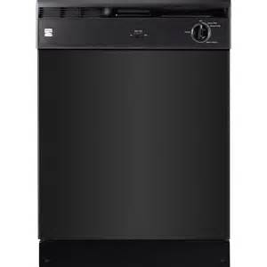 Kenmore Guard Dishwasher Manual Kenmore 14019 24 Quot Built In Dishwasher Black Appliances