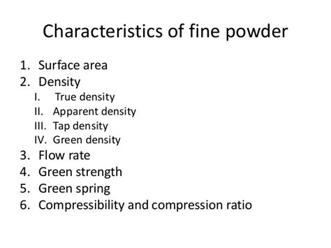 Define Rack Rate by Powder Metallurgy