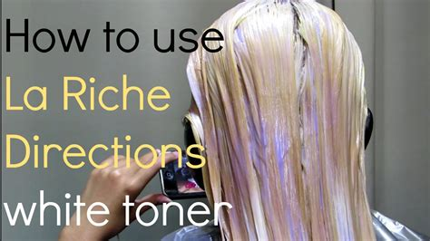 part 2 how to use la riche directions white toner