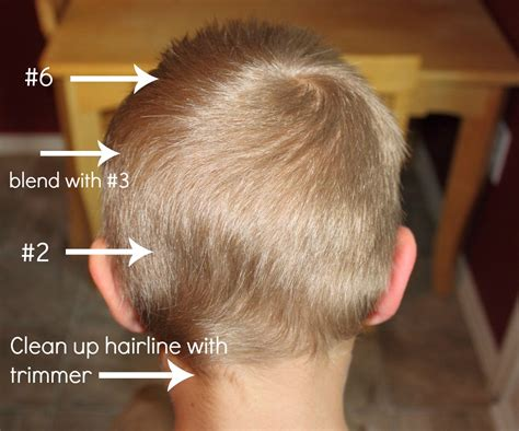 haircut size 5 how to do a boy s haircut with clippers frugal fun for