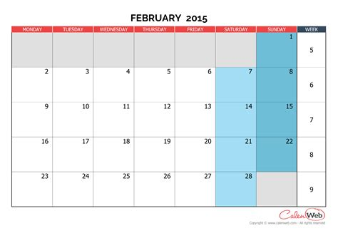 2015 monthly calendar template monthly planner pages freebies u