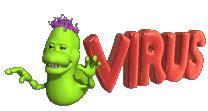 imagenes gif de virus informaticos generalidades 161 cuidado con los virus de internet