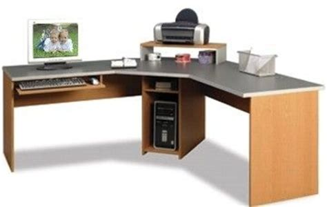 O Sullivan Corner Desk O Sullivan 11860 Alder Venetian Slat Quot L Quot Workcenter Horizon Collection 11860
