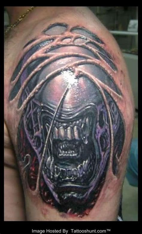 tattoo biomechanical 3d 3d tattoos and designs page 328