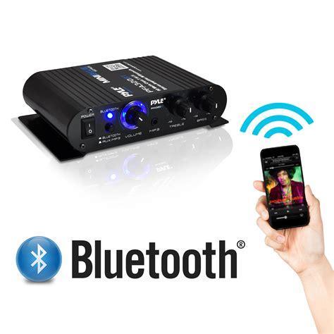 Speaker Power Up Bluetooth pyle pfa320bt bluetooth mini blue series compact class t lifier 90 watt max