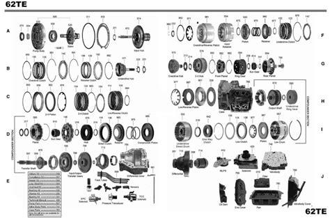 transmission repair manuals te instructions  rebuild transmission