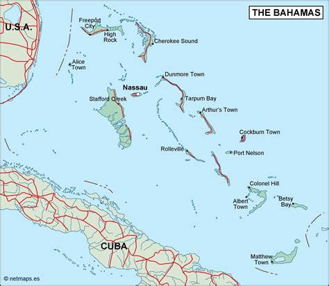 map of usa and bahamas bahamas political map order and bahamas