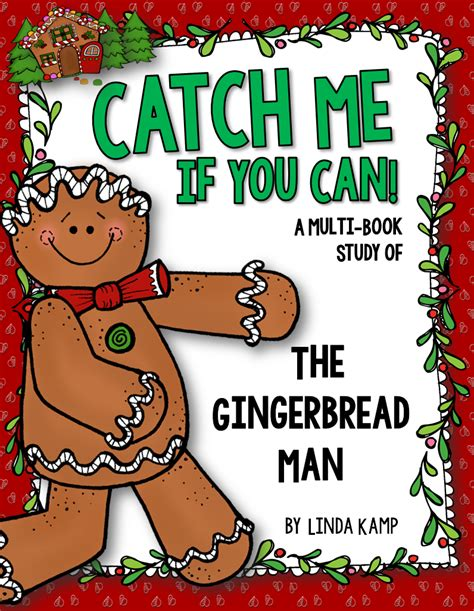 my gingerbread man printable book 5 days of freebies day 1 around the kfire