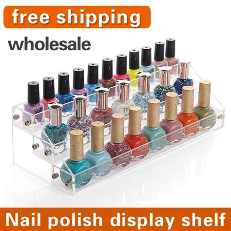 aliexpress buy acrylic makeup organizer aliexpress buy 2015 new fashion acrylic makeup organizer nail nail display