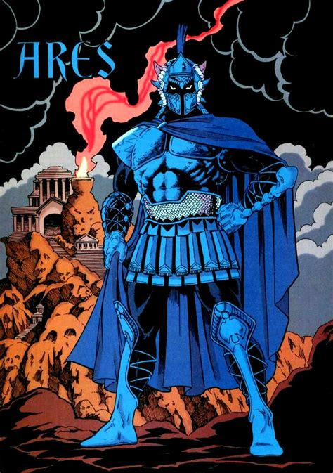 entity ares ares new earth dc comics database